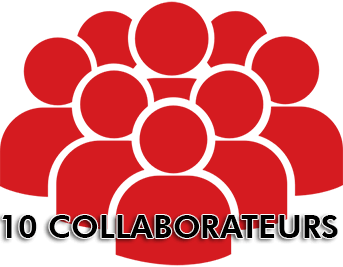 10 collaborateurs